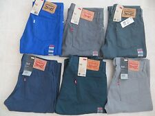 LEVIS 514 Slim Straight Fit Mens Twill Pants Jeans Sz 29 30 32 34 36 X30 X32 NWT