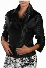 NEW Womens 100% Leather Lambskin Jacket Coat, Made to your Measurements - WJ160
