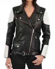 NEW Womens 100% Leather Lambskin Jacket Coat, Made to your Measurements - WJ173