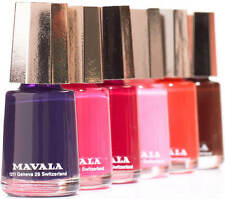 Mavala Nail Polish - **Buy 3 get another 1 for Free** 23 Colours to choose from!