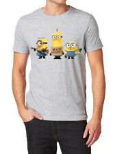 Minions LOGO T-SHIRT NEW FRUIT OF THE LOOM PRINT BY EPSON