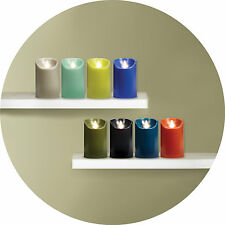 """NEW COLORS"" Reallite Real Genuine Wax Flicker Flameless LED Candle"