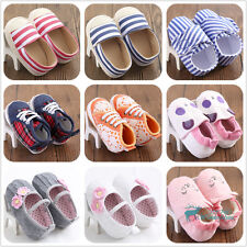 Toddler Soft Cloth Shoes Baby Girl Boy Shoes Prewalker Baby Walker Crib Sneakers