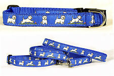 Dog Ink NEW Leash/Collar Set or Leash Only Westie West Highland White Terrier
