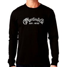 Martin & Company Guitar Logo long sleeve T-Shirt