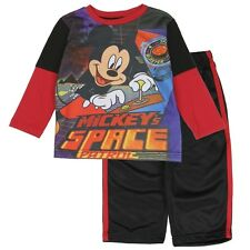Disney Mickey Mouse Infant 2 Piece Tricot Set - Mickey Space Patrol - New
