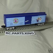 LIONEL FROSTY THE SNOWMAN REEFER o gauge train christmas holiday santa 6-81284