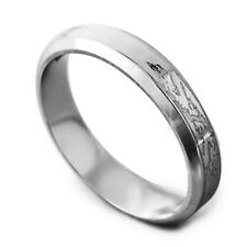Vogue Men's Unisex White Gold Filled Dragon Promise Band Ring Size 8 9 10 11