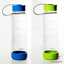 Brand New Ikea Tritan Water Bottle - Removable Cap 20 oz / 60 cl - Blue/Green