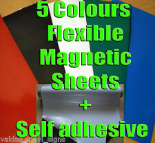 A4 / 300x610mm / 305mm x 1m  FLEXIBLE MAGNETIC SHEET  0.85mm thick SIGN MAGNET