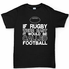 Rugby v Football World Cup Union League T shirt Jersey Tee T-shirt