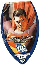 Vs. System Justice League of America Base Set Single Cards Upper Deck DC Comics