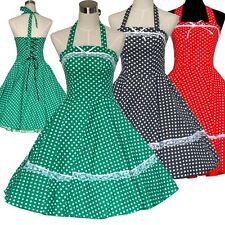 VINTAGE 1950's 1960's ROCKABILLY SWING EVENING COCKTAIL RETRO PARTY DRESS 3COLS