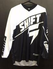 NEW SHIFT MX 'ASSAULT' JERSEY - BLACK - MX * BMX - ADULT L & XXL - NEW RACEWEAR
