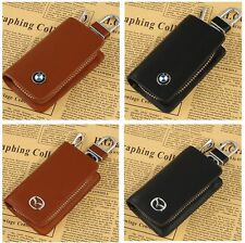 BMW Key Case Car Leather Key Bag Remote Control package Mazda Auto Key Chains