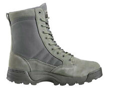 "Original Swat 1250 Sage Steel Toe Classice 9"" Leather Tactical /Combat Boots"