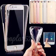 Ultra-thin Soft TPU Full Body Protector Case Cover For iPhone SE 5 5S 6 6S Plus