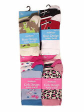 Madison Girls or Boys 3 pack of Ankle socks Sizes 6-8.5, 9-12 & 12.5-3.5 NEW