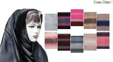 PARALLEL COLORED LINES MAXI SCARF/HIJAB/WRAP ROUND NECK ABAYA CASUAL PARTY WEARR