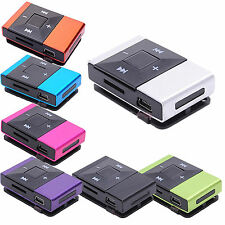 WOW Style Mini Clip USB MP3 Music Player Support Up To 32GB Micro SD TF Card
