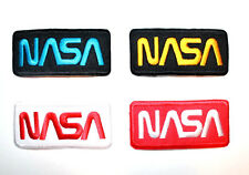 NASA Sign Logo Space Explorer Alien Star Jacket Shirt Embroidered Iron on Patch