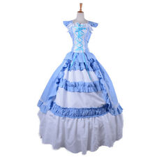 Victorian Southern Belle Prom Lolita Ball Gown Party Fancy Dress Costume Custom