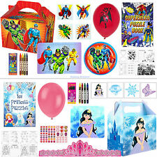 15 x Childrens Pre Filled Party Bags Kids Birthday Party Bag Party Food Boxes