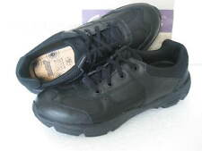 NEW CLARKS BOOTLEG ACTIVE AIR OLDER BOYS BLK LEATHER SCHOOL SHOES VARIOUS SIZES