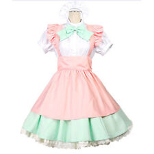 Lolita Bow Dress Amine Japanese Maid Uniform Costume /Halloween /Cosplay Party