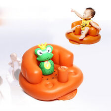 Safety Baby PVC Sofa Inflatable Stool Training seat Bath Dining Chair Seat