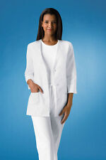 Cherokee 3/4 Sleeve Embroidered Jacket Style 1491 (All Sizes)