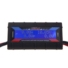 130/150A Digital LCD Ammeter Voltmeter Watt Meter+Power Analyzer Hight Precision