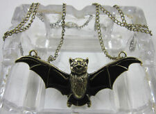 Occident Style fashion beautiful retro bronze alloy bat charms necklace