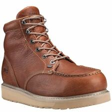 Timberland Pro Boots Mens Barstow Wedge Alloy Safety Toe Brown Work Boot 88559