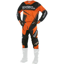 Oneal 2017 NEW Mx Youth Element Black Orange Kids Motocross Gear Set & Gloves
