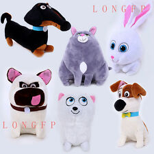 Movie The Secret Life Of Pets Soft Plush Toys Doll Dog Kids Birthday XMAS Gift