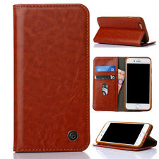 Luxury Flip Leather Wallet Card Slot Pouch Case Cover for iPhone 5s SE 6 6s/Plus