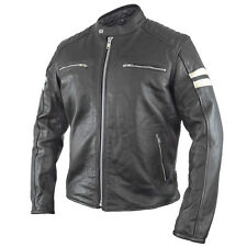 Xelement Delta Men's Leather Motorcycle Jacket - 3XL