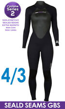 Hyperflex Cyclone 2 4/3mm Women's Wetsuit Surfing Diving Snorkel BEST SELLER