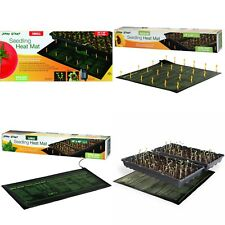 Seedling Propagation Heat Mat Germinate Tomato Herb Vegetable Faster Seed Trays