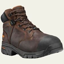 """Timberland Pro Boots Helix Met Guard 6"""" Composite Safety Toe BRN Work Boot 89697"""