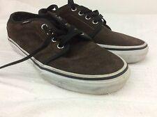 VANS OFF THE WALL BROWN CREAM WOMENS UNISEX TRAINER SHOE SIZE UK 3.5