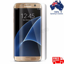 Full Screen Curved Clear Protector Film Cover For Samsung Galaxy S7 Edge