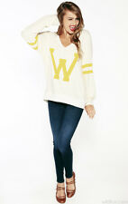 BNWT - WILDFOX COUTURE | LETTERMAN VARSITY JUMPER - RRP$149