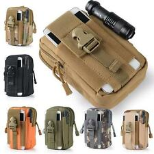 Outdoor Sport Molle Waist Pack Running Hiking Utility Fanny Phone Pouch Belt Bag