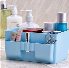 Plastic Organizer Cosmetic Storage Box DIY Desk Decor Makeup Stationery Case