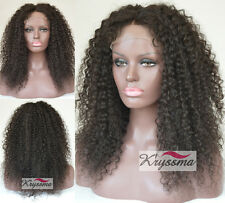 Indian Remy Hair Natural Curly Best Human Hair Lace Front Wigs For Black Women
