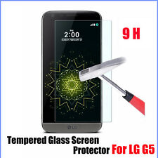 1x/2x/3x 0.25mm REAL Tempered Glass Screen Protector For LG G5 W/ Clean Cloth