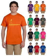 Mens Womens Solid Colors Crew Neck Casual Short Sleeve Screen Printed T-Shirts