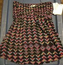 New with tags Womens strapless Roxy shirt, Retail $36.50